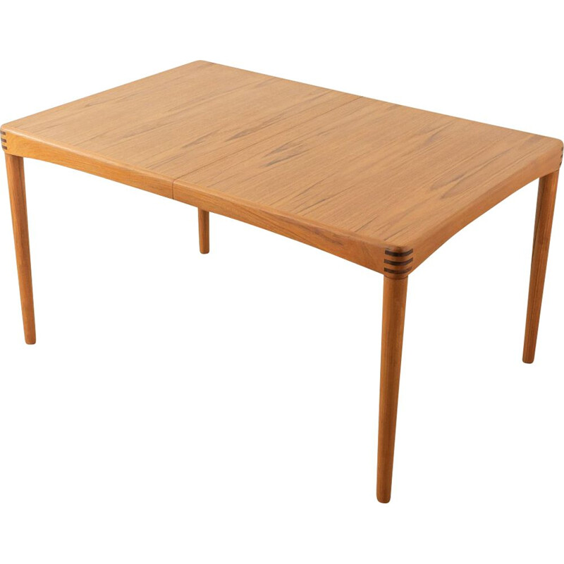 Vintage table by H.W. Small for Bramin, Denmark 1960
