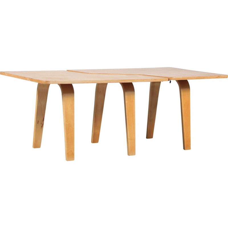Vintage coffee table Puzzle TB14 by Cees Braakman for Pastoe, Netherlands 1950