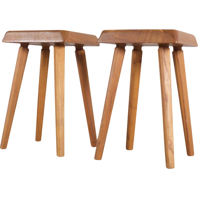Pair of vintage stools by Chapo, 1969