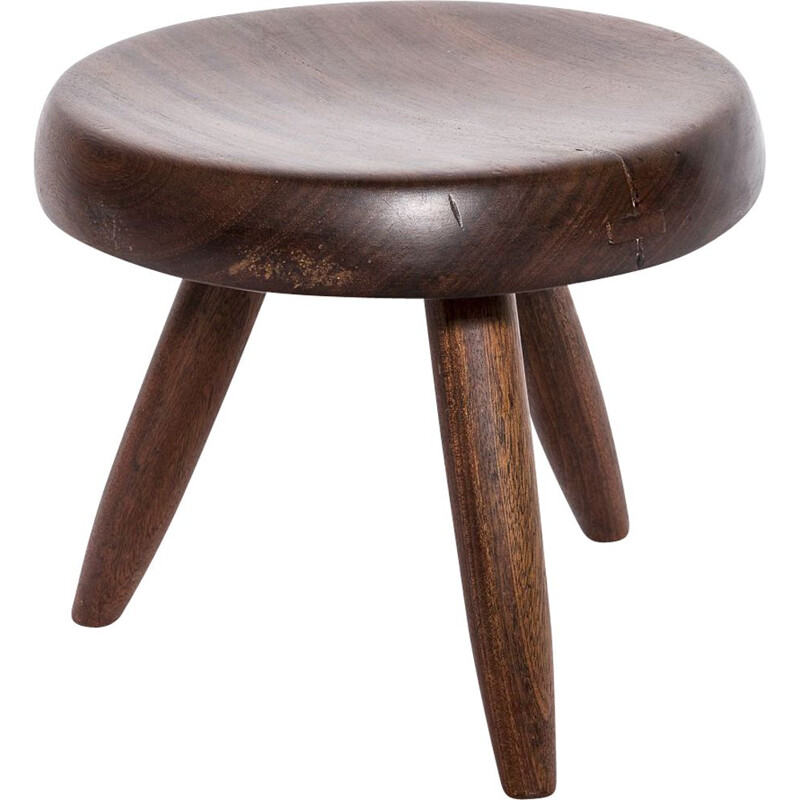 Vintage stool by Charlotte Perriand for Steph Simon, 1950s