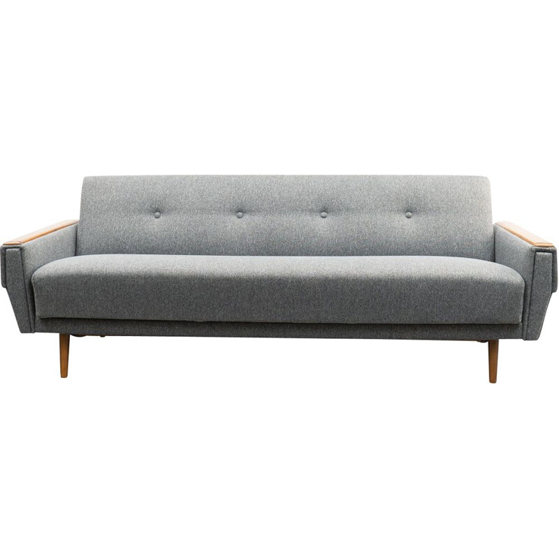 Vintage sofa with fold-out function, 1960s