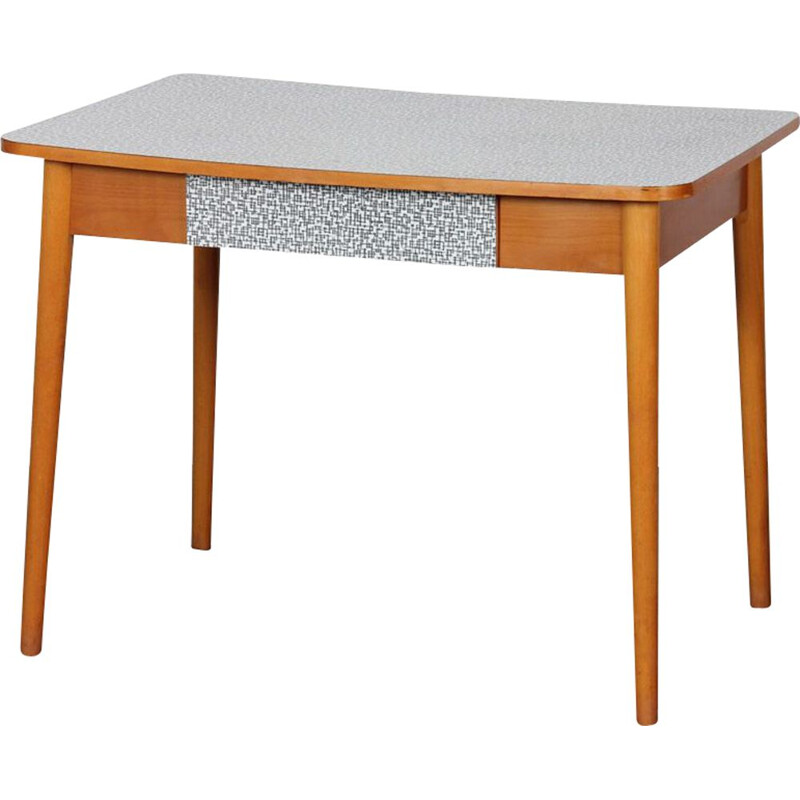 Mid century Czech formica table, 1960s