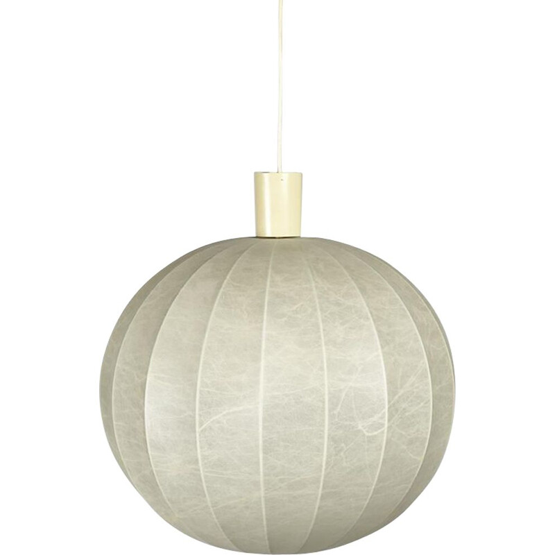 Vintage Cocoon pendant lamp by Castiglioni, Italy 1960