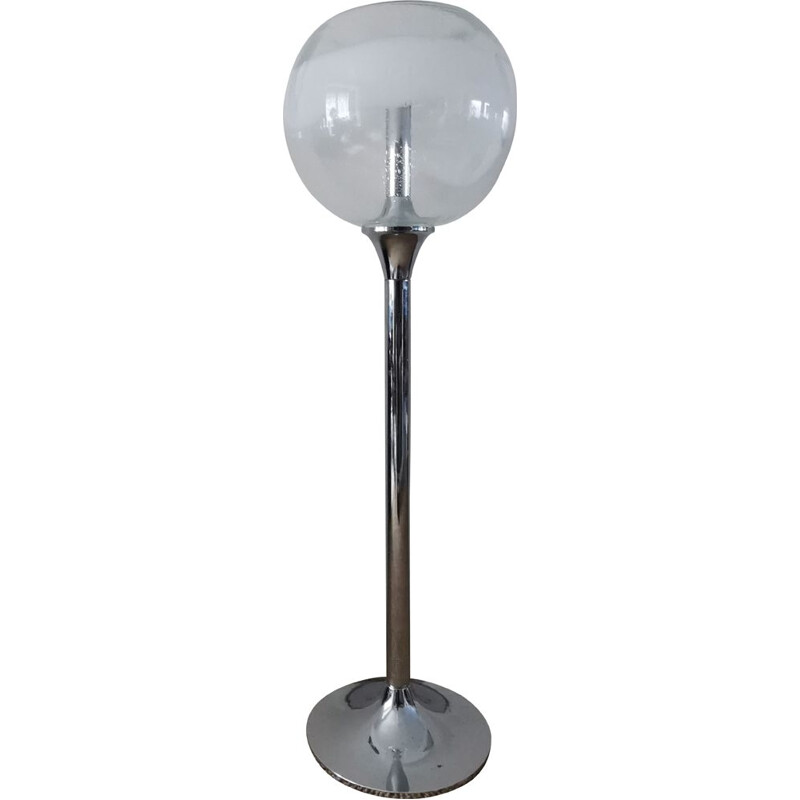 Space age floor lamp by Gino Poli and Ettore Fantasia for SOTHIS Murano