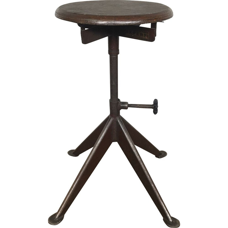 Industrial stool by Jean Prouvé, 1950