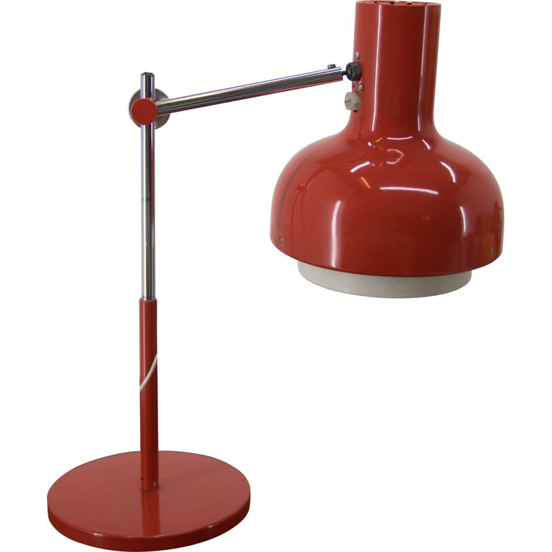 Mid-century adjustable table lamp by Josef Hurka for Napako, 1970s