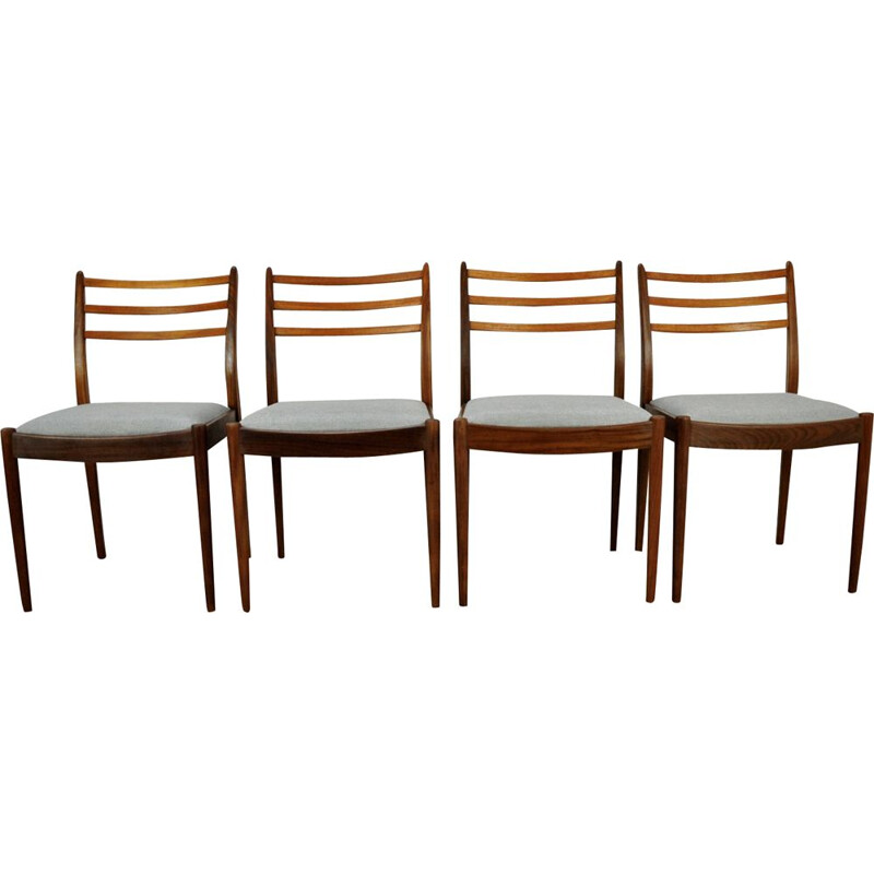 Set of 4 vintage chairs by V. Wilkins for G-Plan, 1960