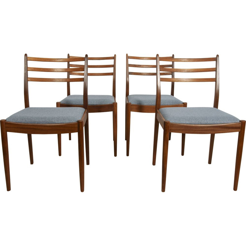 Set of 4 vintage chairs by Victor Wilkins for G-Plan, UK 1960