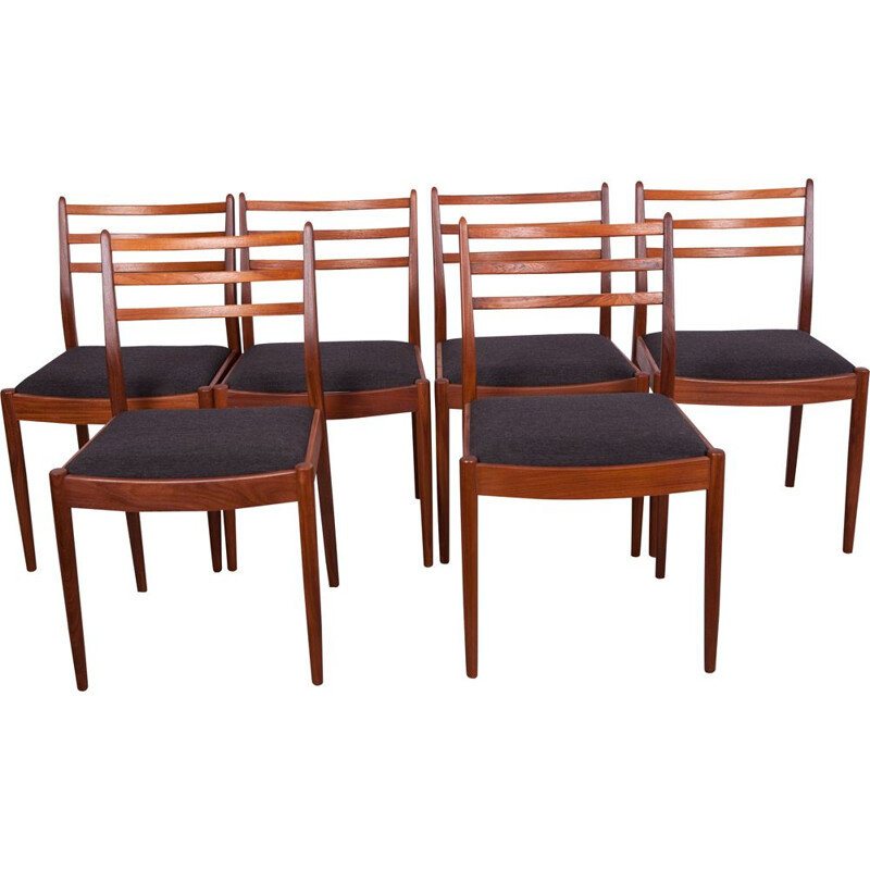 Set of 6 vintage dining chairs by Victor Wilkins for G-Plan, UK 1960