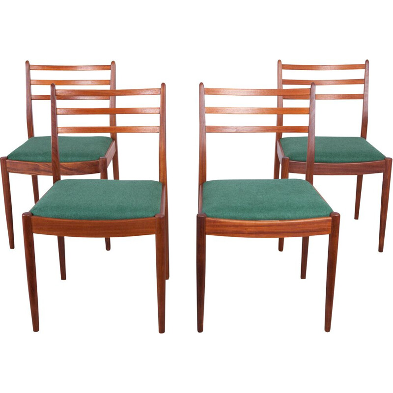 Set of 4 vintage teak dining chairs by Victor Wilkins for G-Plan, 1960