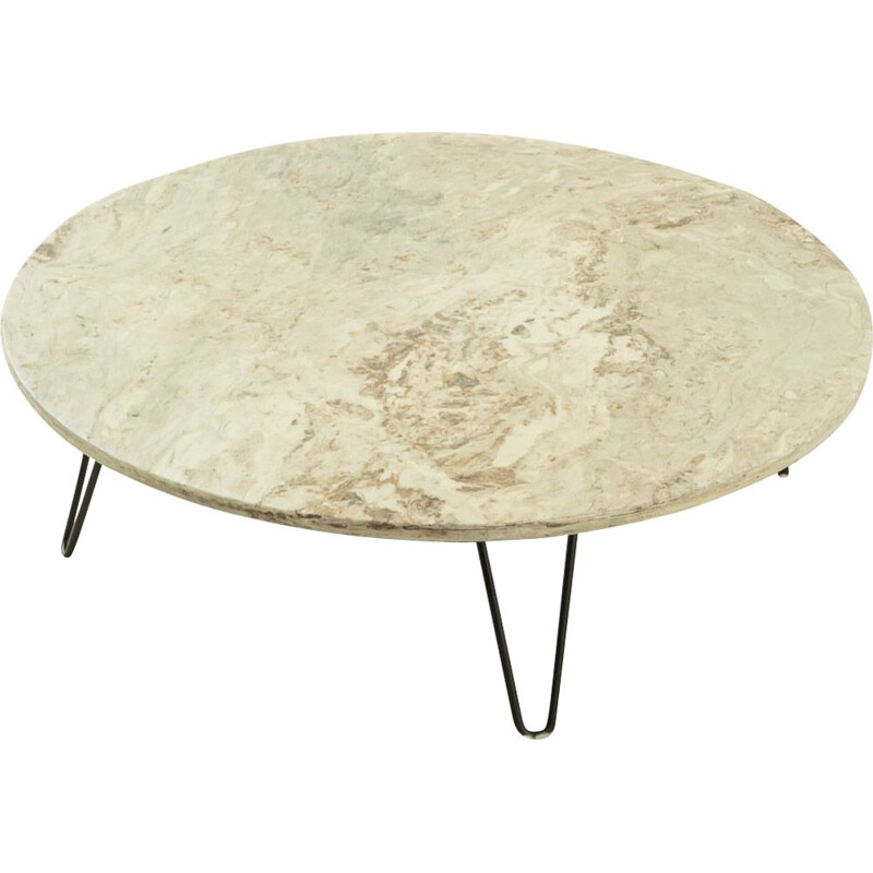 Mid century marble coffee table, Germany 1960s