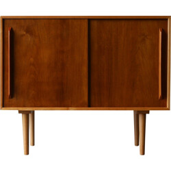 Hille unit 'C' sideboard in beech and walnut, Robin DAY - 1952