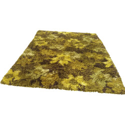 Very large vintage Coronet rug in wool - 1960s