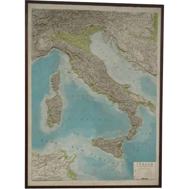 Mid century picture of Italy by Rico Firenze