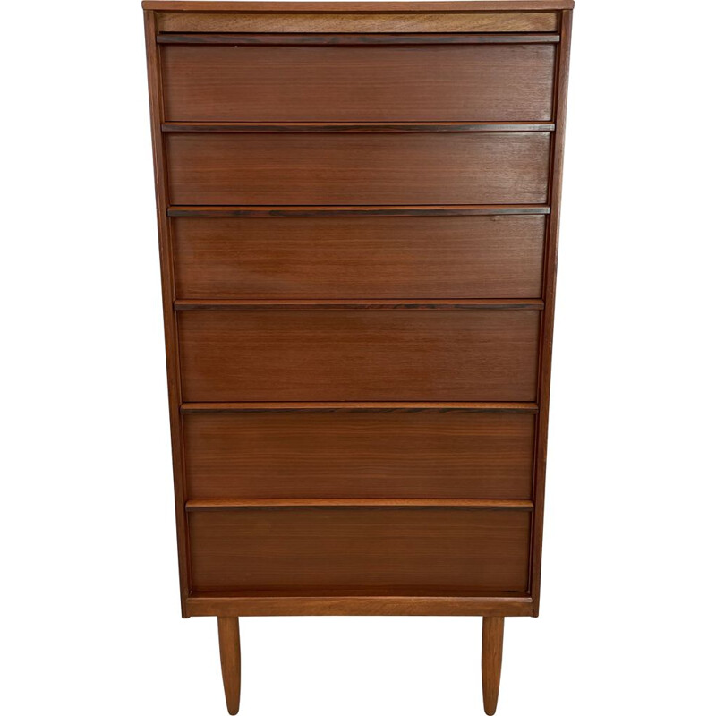Vintage teak chest of drawers by Frank Guille for Austinsuite London, England 1960s