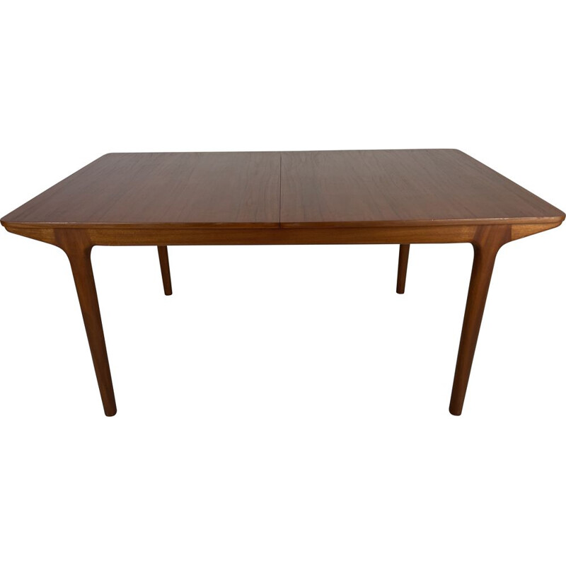 Vintage teak dining table with extensions by McIntosh, 1960s