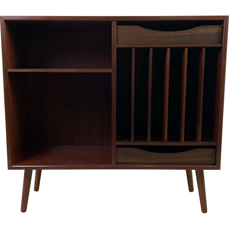 Scandinavian vintage rosewood bookcase with drawers, by Horsens Møbelfabrik, 1960s