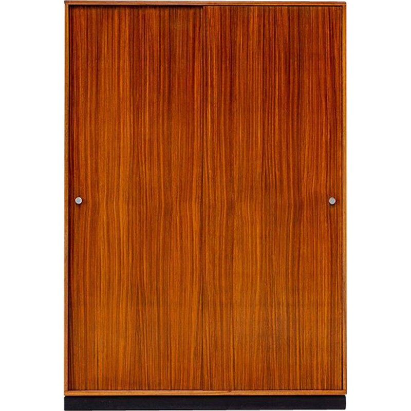 Cabinet in zebrano wood by Alfred Hendrickx for Belform, 1960s