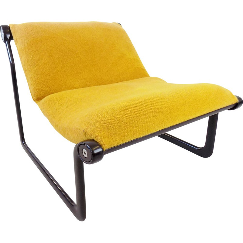 Mid-century Sling lounge chair by Hannah & Morrison for Knoll, 1970s