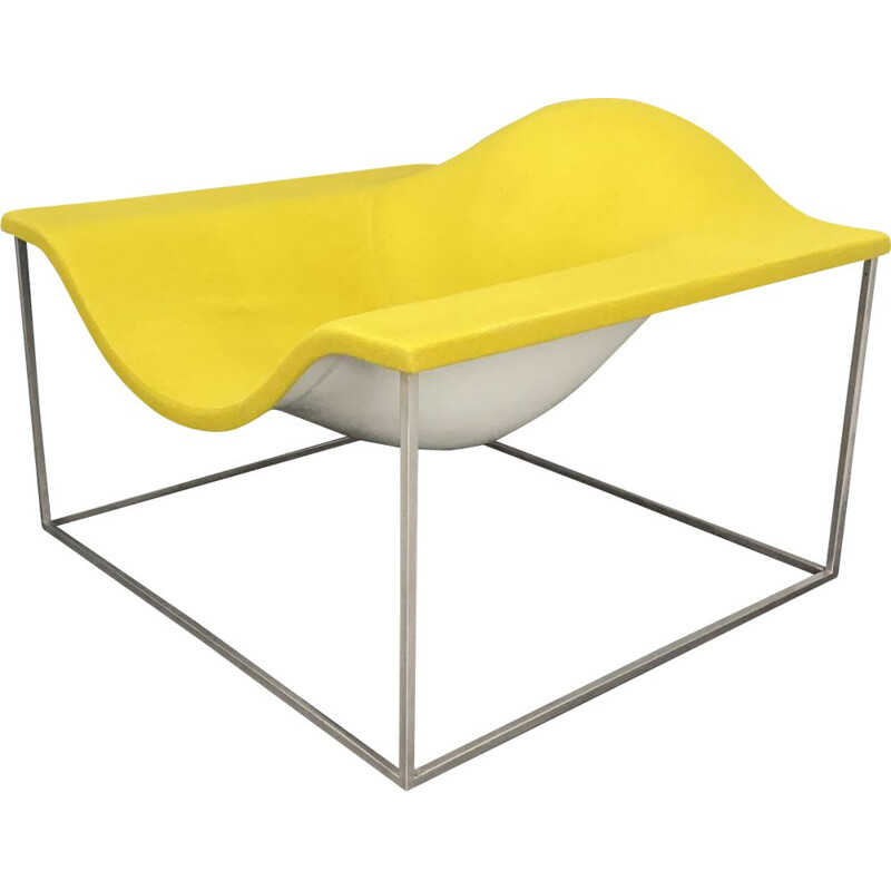 Outline lounge chair from Jean Marie Massaud for Cappellini, Italy