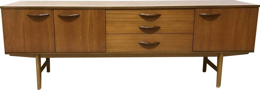 Long Avalon Teak Sideboard 1960s Design Market