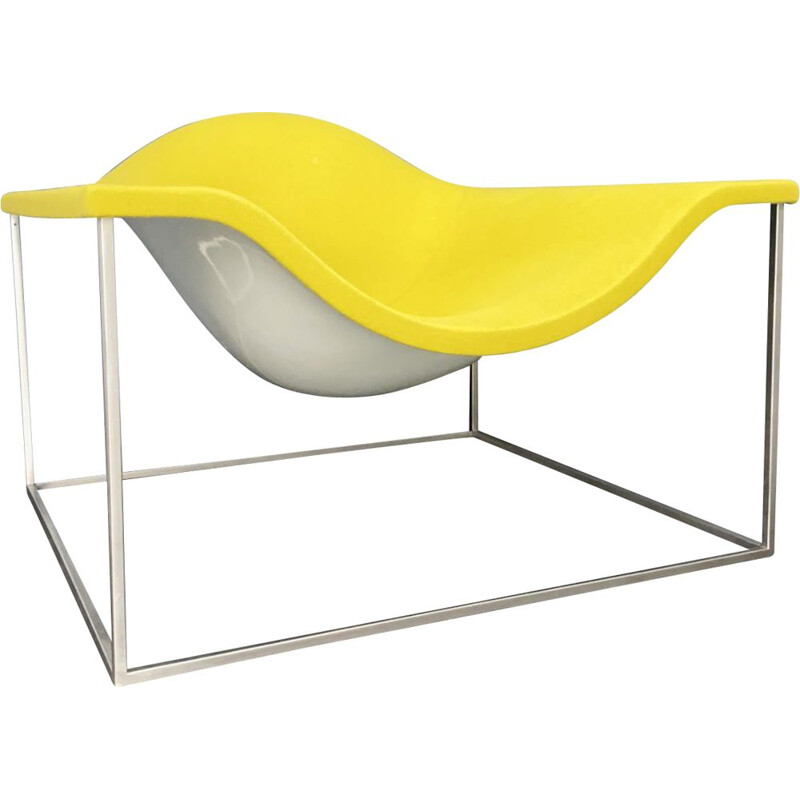 Vintage Outline lounge chair from Jean Marie Massaud for Cappellini, Italy
