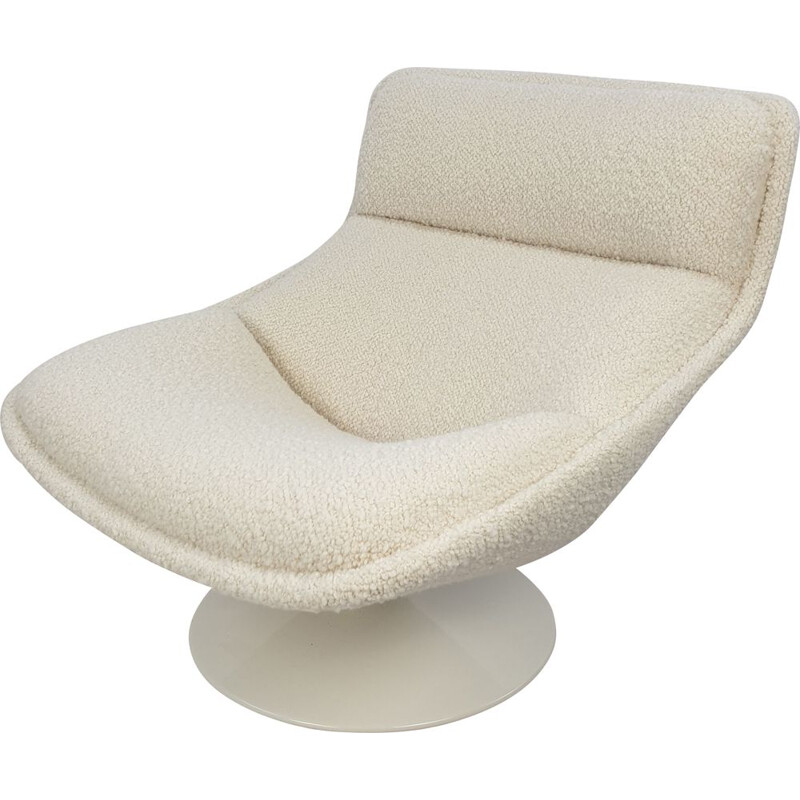 Vintage F517 lounge chair by Geoffrey Harcourt for Artifort, 1970s