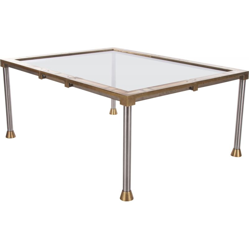 Vintage coffee table by Peter Ghyczy, 1990