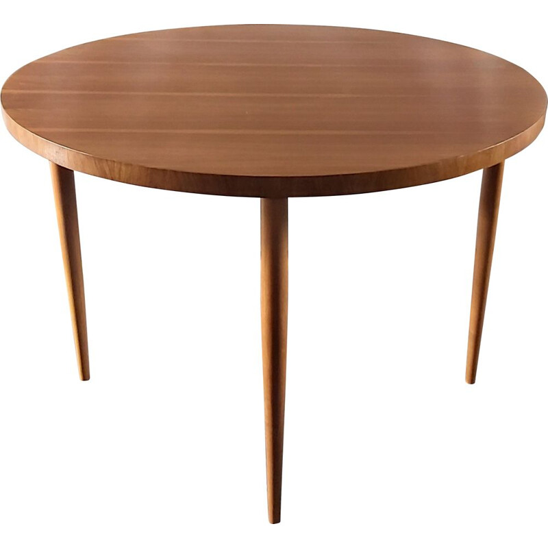 Vintage round table, Germany 1960
