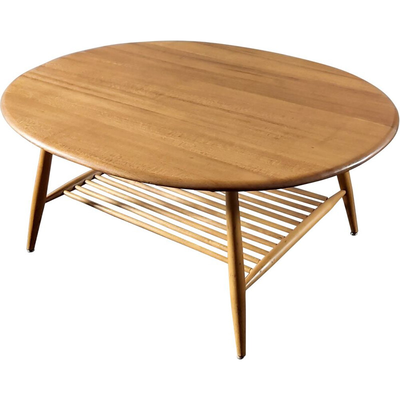 Vintage coffee table by L. Ercolani for Ercol, UK 1960