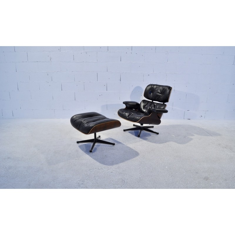 Superb Mobilier International Lounge Chair 670 Armchair With Ottoman Charles Ray Eames 1980S Uwap Interior Chair Design Uwaporg