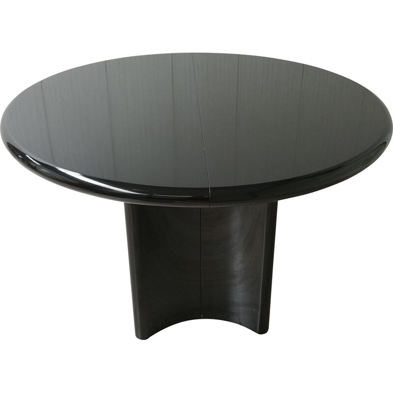 Mid-century oval extending table