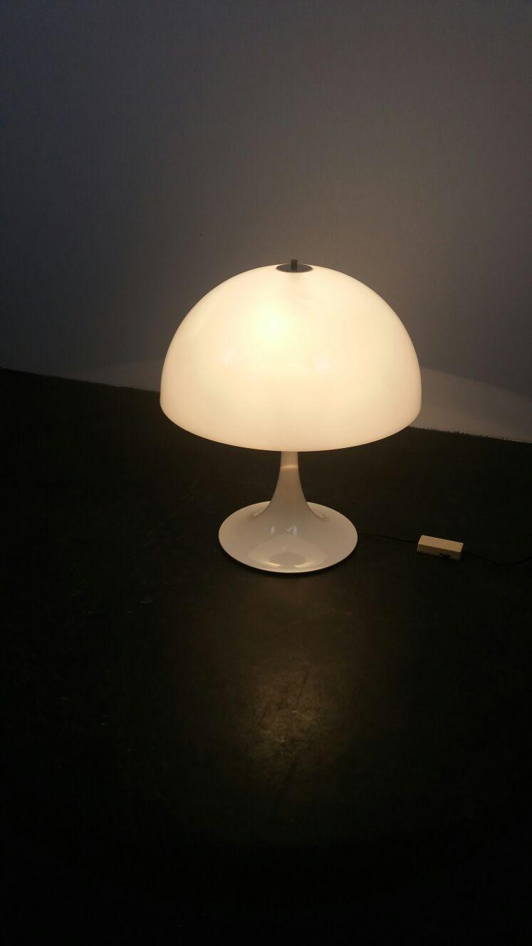 Raak Amsterdam Quot Mushroom Quot Table Lamp In Metal 1970s