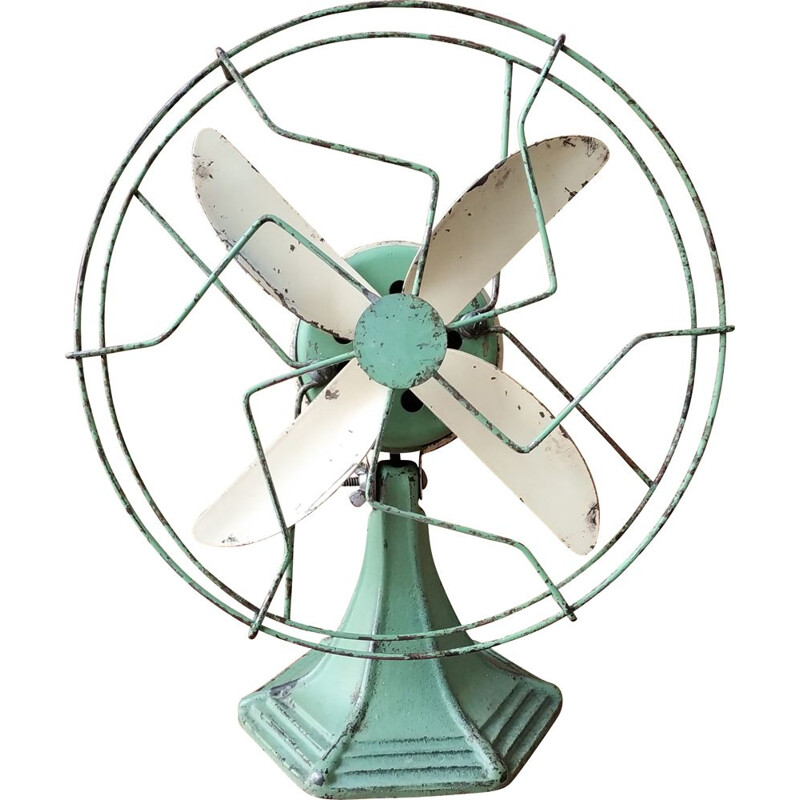 Vintage table America fan by Weinig Products Company, USA 1930s