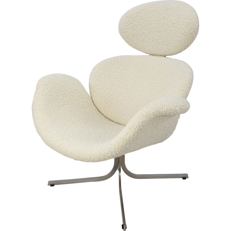 Vintage First Edition Big Tulip Armchair by Pierre Paulin for Artifort, 1959