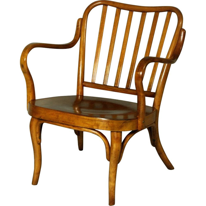 Vintage Thonet armchair no. A 752 by Josef Frank, 1930s