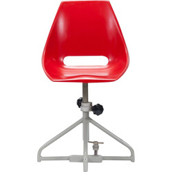 Vertrex industrial shell chair in fiberglass, Miroslav NAVRATIL - 1960s