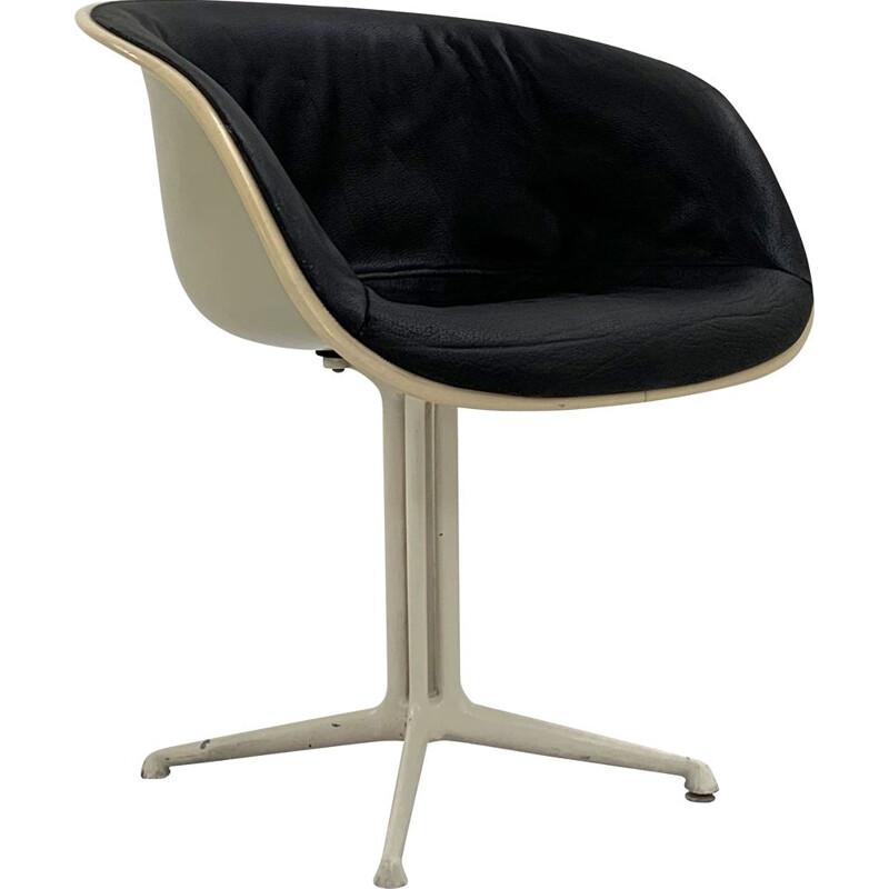 Mid century La Fonda leather armchair by Charles & Ray Eames for Herman Miller, 1960s