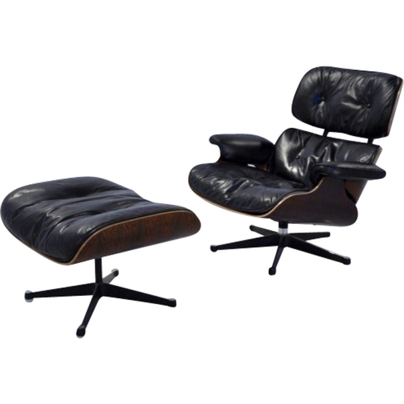 Fine Mobilier International Lounge Chair 670 Armchair With Ottoman Charles Ray Eames 1980S Uwap Interior Chair Design Uwaporg