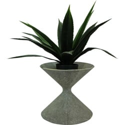 """Eternit """"Spindle"""" planter in fiber cement, Willy GUHL - 1950s"""