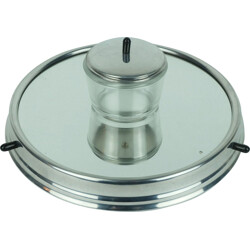 Relish server in 5 pieces on rotating tray - 1930s