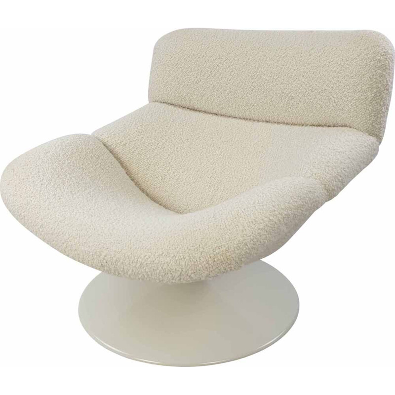 Vintage F518 lounge chair by Geoffrey Harcourt for Artifort, 1970s