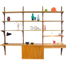 Wall shelves system, Poul CADOVIUS - 1960s