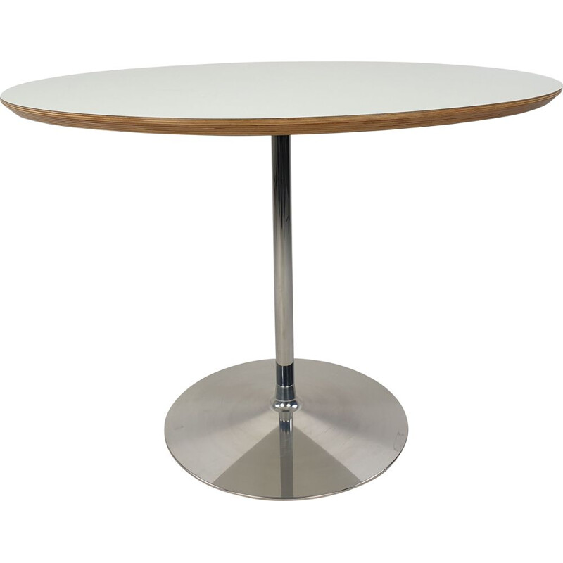 Mid-century round dining table by Pierre Paulin for Artifort, 1990s