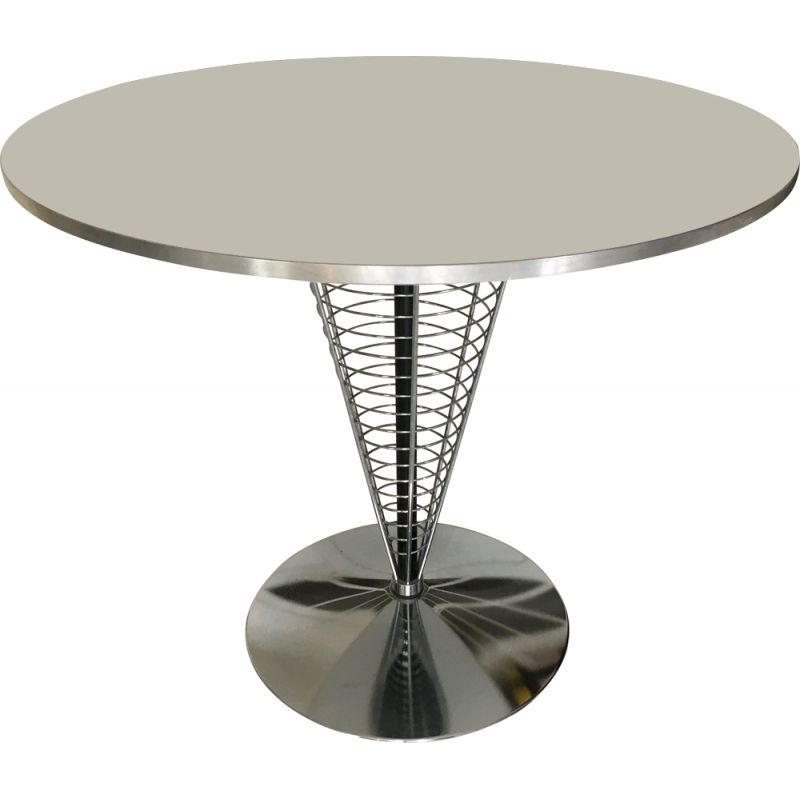 Vintage Wire cone side table by Verner Panton for Fritz Hansen, 1989