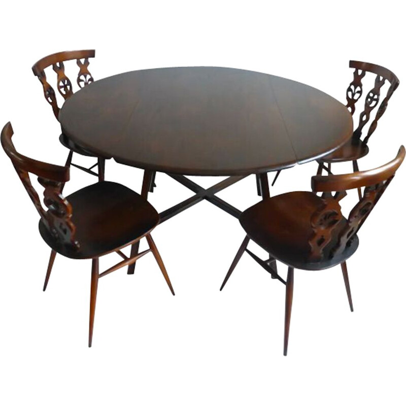 Vintage dining set by Windsor Lucian Ercolani