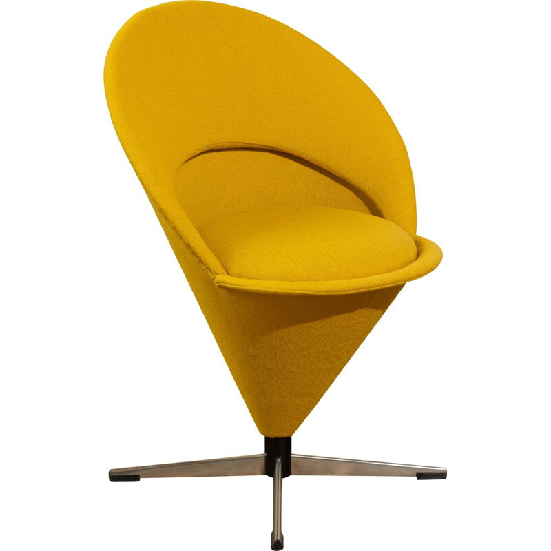 """Vintage chair model """"Cone Chair"""" by Verner Panton for Plus-linje"""