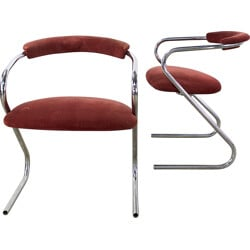 Pair of Lammhulst Z-frame chairs - 1970s