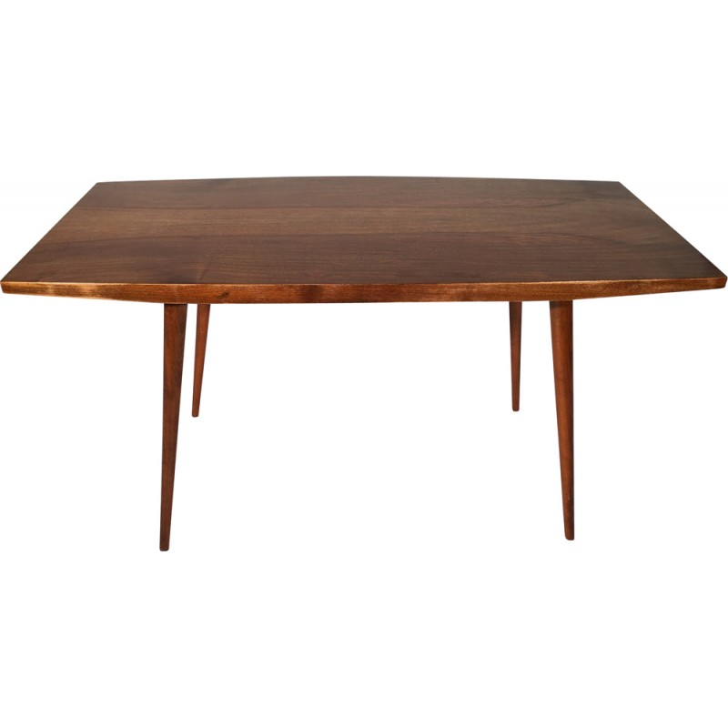 Superior Mid Century Czech Coffee Table In Veneered Wood   1960s Great Ideas