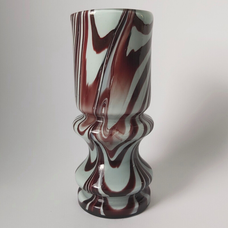 Vintage Murano Glass Vase by Carlo Moretti, Italy 1970s